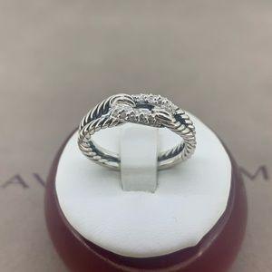 David Yurman Petite Pave Loop Ring with Diamonds💎